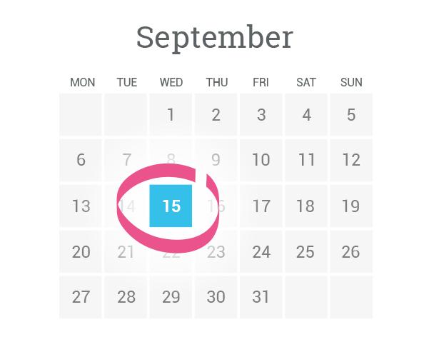 Sportito calendar